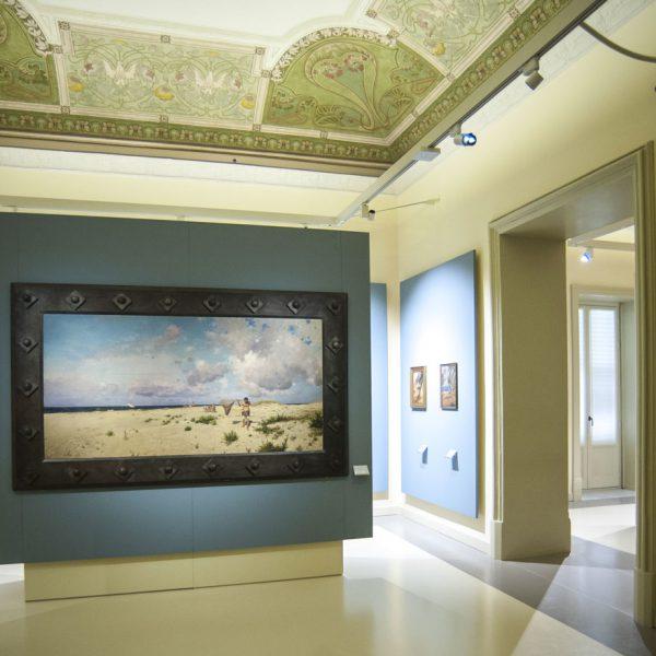 Villa Zito, Pinacoteca (6) - foto Pucci Scafidi
